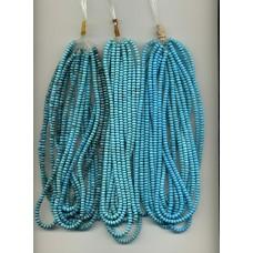 Nacozari Turquoise Roundels 5mm